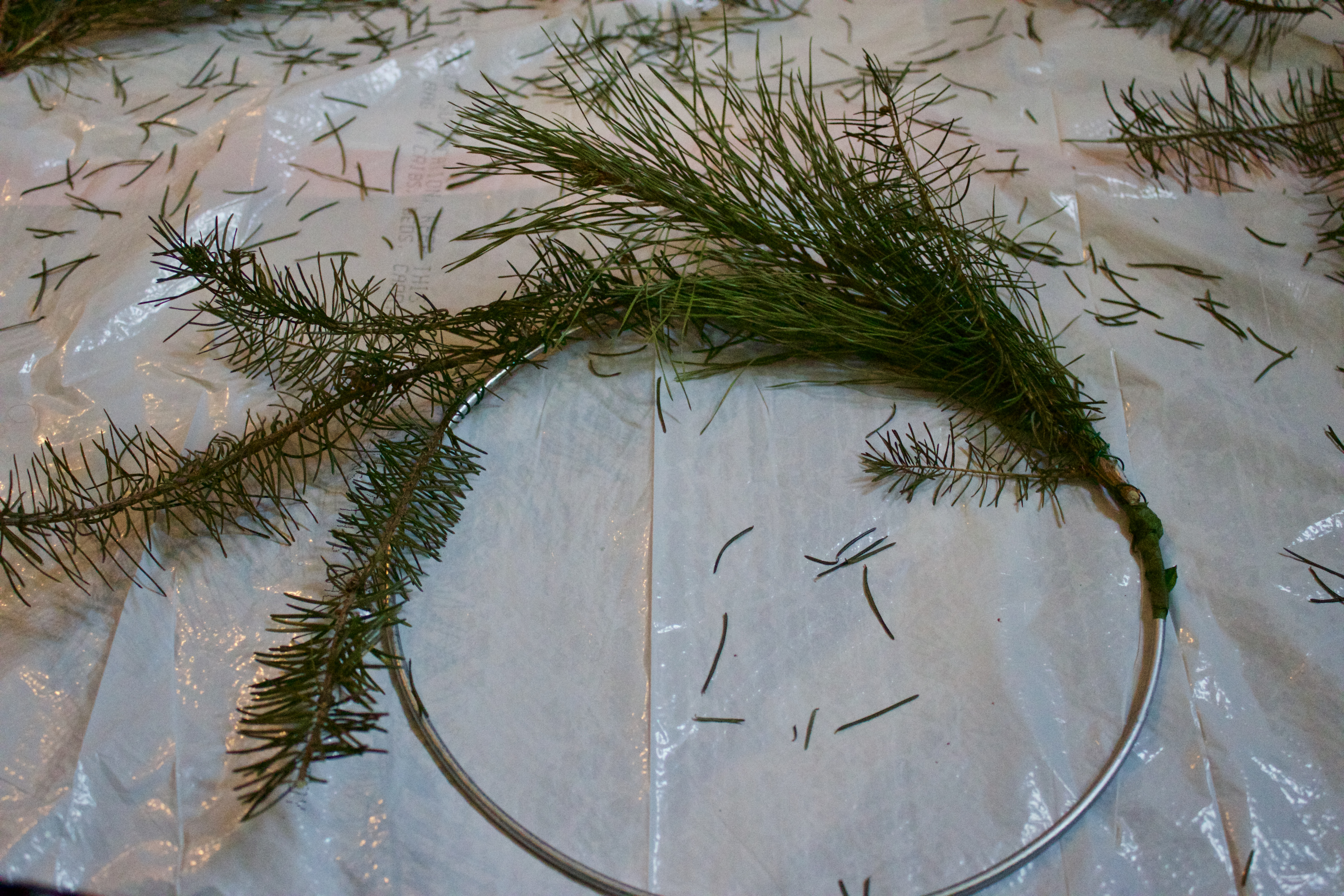 DIY Christmas Wreath -